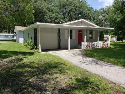 Brooksville Single Family Home For Auction: 7185 Hope Hill Road