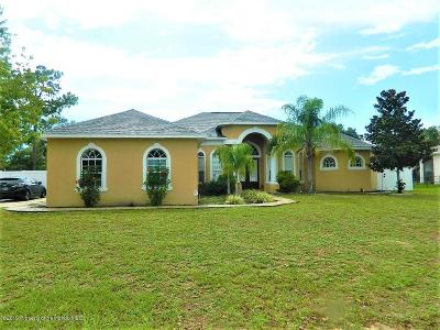 Brooksville Single Family Home For Sale: 14750 Copeland Way