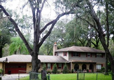 Brooksville Single Family Home For Sale: 27011 Soult Road