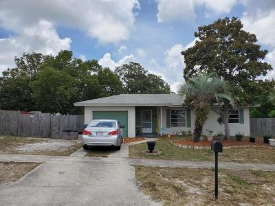 Spring Hill FL Single Family Home For Sale: $115,000
