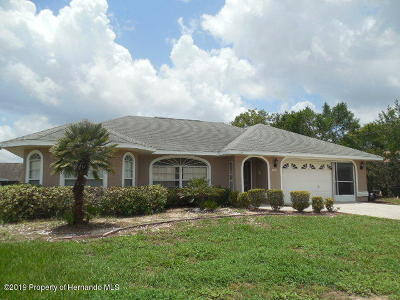 Spring Hill Single Family Home For Sale: 11024 Claymore