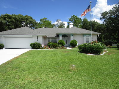Homosassa Single Family Home For Sale: 6 Balsam Drive