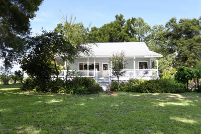 Brooksville Single Family Home For Sale: 16050 Jones Road