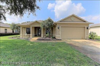 Weeki Wachee Single Family Home For Sale: 9398 Burnam Drive