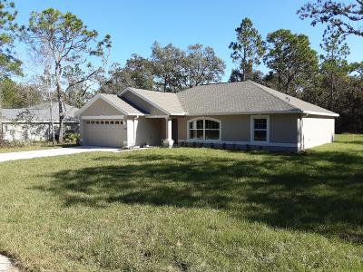 Brooksville Single Family Home For Sale: 14386 Earline Road