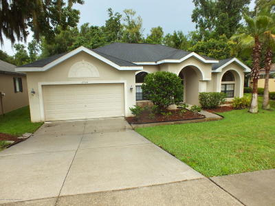 Dade City Single Family Home For Sale: 12306 Woodlands Circle