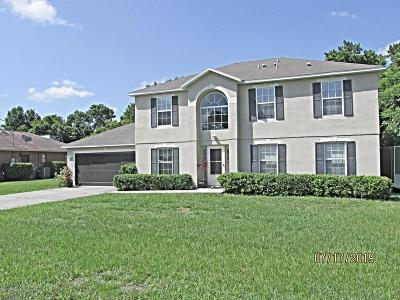 Spring Hill Single Family Home For Sale: 9326 Mallard Street
