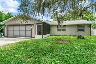 Spring Hill Single Family Home For Sale: 12176 Katherwood Street