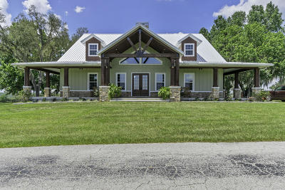 Inverness Single Family Home For Sale: 8281 Pleasant Grove Road