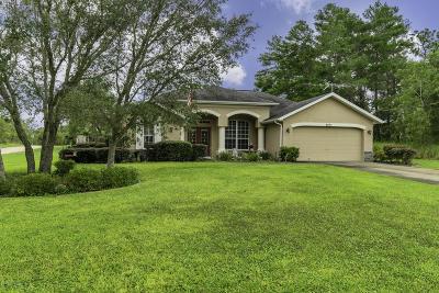 Weeki Wachee Single Family Home For Sale: 8091 Jasbow Junction
