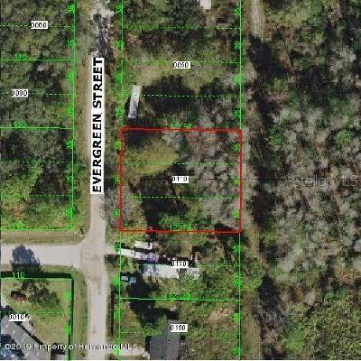 New Port Richey Residential Lots & Land For Sale: 10630 Evergreen Street