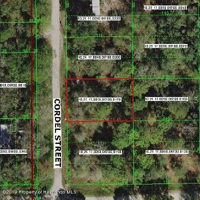 New Port Richey Residential Lots & Land For Sale: Cordel