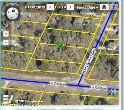 Brooksville Residential Lots & Land For Sale: 11063 Jenny Wren Lot 8 Road