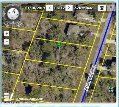 Brooksville Residential Lots & Land For Sale: 11069 Jenny Wren Lot 9 Road