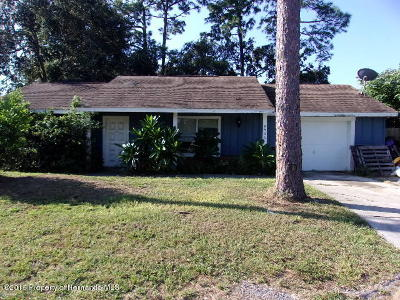 Spring Hill Single Family Home For Auction: 8506 Spring Hill Drive