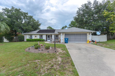 Spring Hill Single Family Home For Sale: 12377 Seagate Street