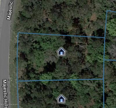 Brooksville Residential Lots & Land For Sale: Majestic Hills Loop