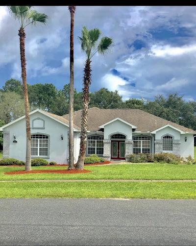 Spring Hill FL Single Family Home For Sale: $314,900