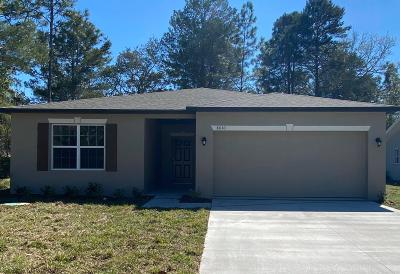 Spring Hill Single Family Home For Sale: 8010 Blackhawk Trail