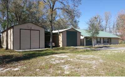 Fort White Single Family Home For Sale: 19126 SW Sr 47