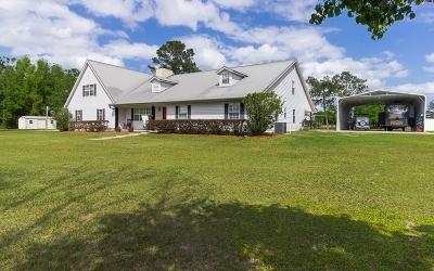 Live Oak Single Family Home For Sale: 7252 169th Drive