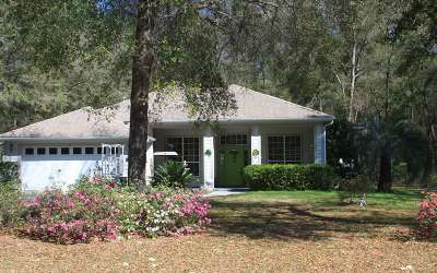 Fort White Single Family Home For Sale: 199 SW Blue Jay Ct