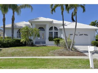 Marco Island Single Family Home For Sale: 746 Orchid Ct #10