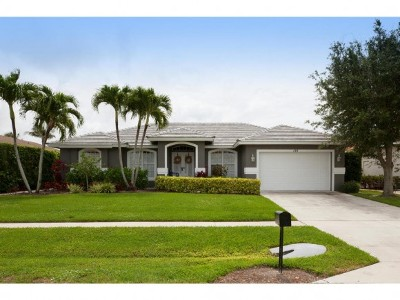 Marco Island Single Family Home For Sale: 169 Richmond Ct #8