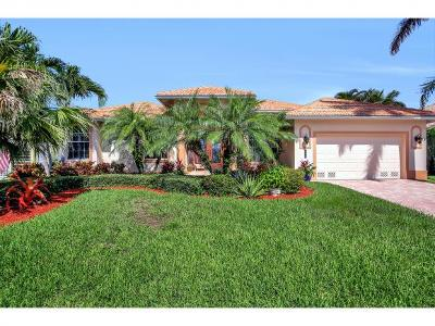 Marco Island Single Family Home For Sale: 258 Bass Ct #6