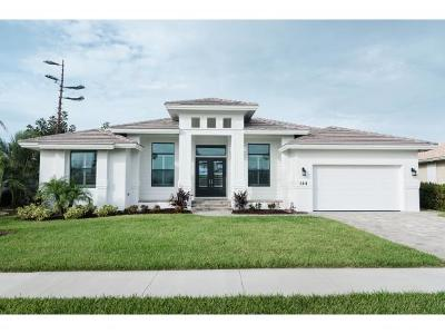Marco Island Single Family Home For Sale: 144 Balfour Dr #25