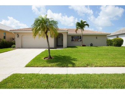 Marco Island Single Family Home For Sale: 1109 Dana Ct #7