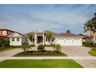 Marco Island Single Family Home For Sale: 550 Conover Ct #9