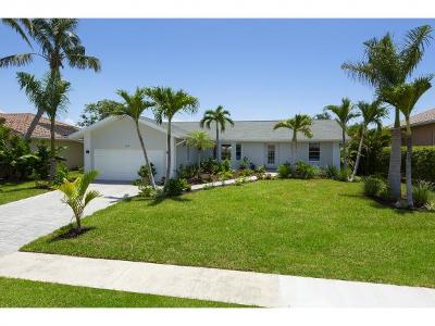 Marco Island Single Family Home For Sale: 159 Leeward Ct #3