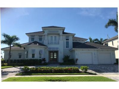 Marco Island Single Family Home For Sale: 1285 Martinique Ct #1