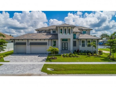 Marco Island Single Family Home For Sale: 35 Anchor Ct #35