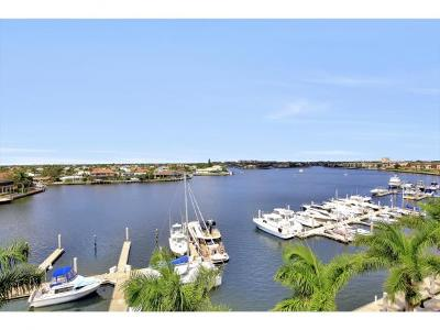 Marco Island Condo/Townhouse For Sale: 720 N Collier Blvd #PH 602