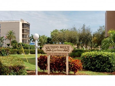 Southern Breeze Gardens Condo/Townhouse For Sale: 1141 S Collier Blvd #303
