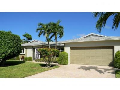 Marco Island Single Family Home For Sale: 1216 Bluebird Ave #4
