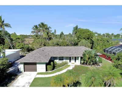 Marco Island Single Family Home For Sale: 1260 Skylark Ave #1