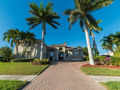 Marco Island Single Family Home For Sale: 1430 Salvadore Ct #9