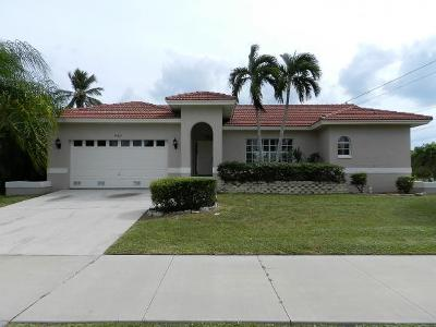 Marco Island Single Family Home For Sale: 351 Yellowbird St #1