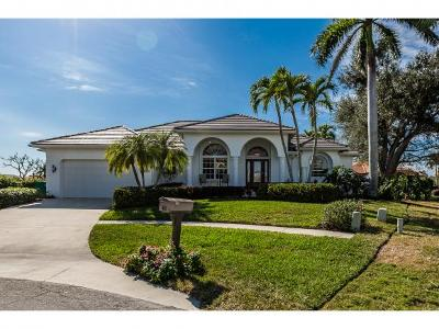 Marco Island Single Family Home For Sale: 1695 Rainbow Ct #8
