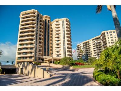 Duchess Condo/Townhouse For Sale: 220 S Collier Blvd #Penthous