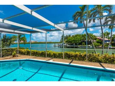 Marco Island Single Family Home For Sale: 818 Perrine Ct #11