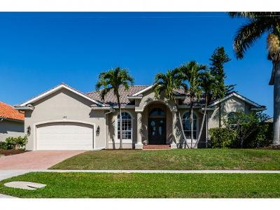 Marco Island Single Family Home For Sale: 1172 Bond Ct #7