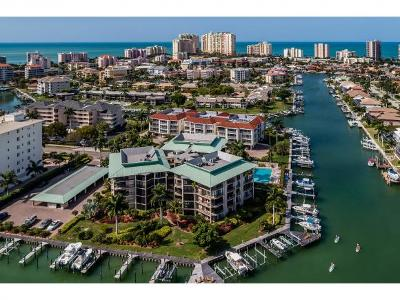 Marco Island Condo/Townhouse For Sale: 845 Collier Ct #501