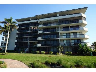 Marco Island Condo/Townhouse For Sale: 601 Seaview Ct #503