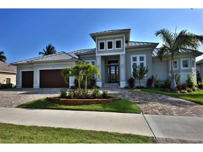 Marco Island Single Family Home For Sale: 359 N Barfield Dr #2