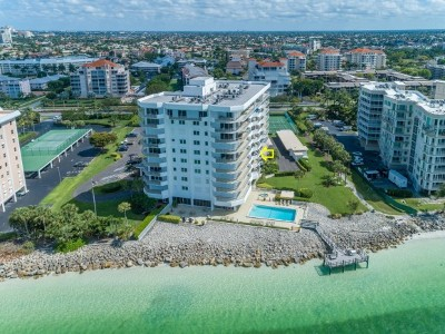 Dela Park Place Condo/Townhouse For Sale: 1036 S Collier Blvd #303