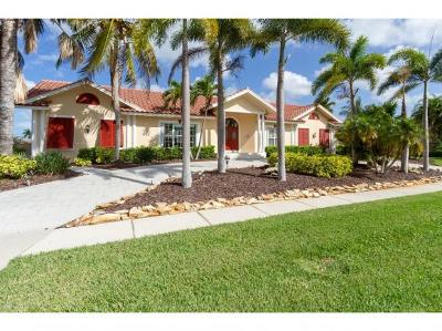 Marco Island Single Family Home For Sale: 1770 Barbados Ave #2